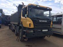 2013 SCANIA P400 dump truck