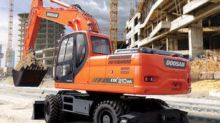 2017 DOOSAN DX 210 wheel excava