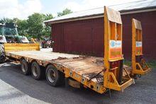2011 KANE low loader trailer