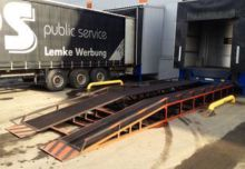 2017 MLC AP mobile yard ramp