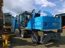 FUCHS mhl 331 wheel excavator