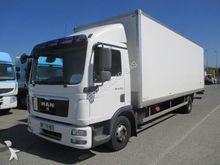 2011 MAN TGL closed box truck