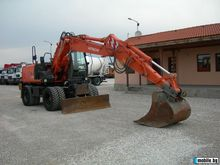2007 HITACHI ZX 130W wheel exca