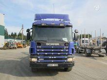 2000 SCANIA P124, timber trucks