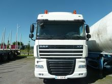 2013 DAF XF105 510 chassis truc
