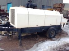 2008 HBT S80 stationary concret