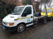IVECO 35c12 skip loader truck