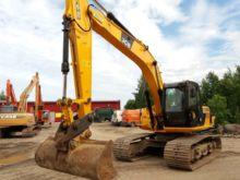 2013 JCB JS160LC, excavator tra