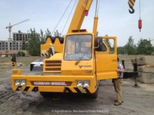 2013 TADANO GT650E mobile crane