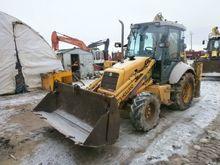 2000 HOLLAND LB 95, excavator l