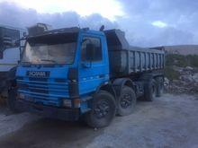 1987 SCANIA 8x4 dump truck