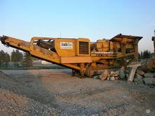 2007 EXTEC C 12, stone crusher