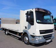2011 DAF 45.220 flatbed truck