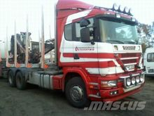 2003 SCANIA 124 timber truck