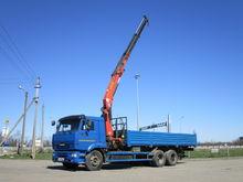 2011 KAMAZ 65117 flatbed truck