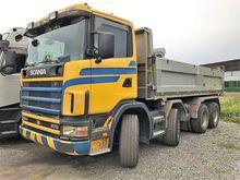 2002 SCANIA R124 dump truck