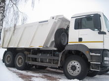 2017 MAN TGS 40.390 dump truck