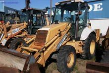 HOLLAND NH95 backhoe loader