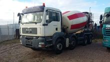 2008 MAN 32.360 concrete mixer