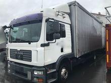 2008 MAN 12.280 TGM truck curta