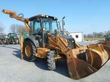 2006 CASE 580 Super SR backhoe