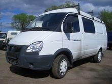 2014 GAZ 2705 closed box van