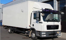 2011 MAN TGL 12.220, box trucks