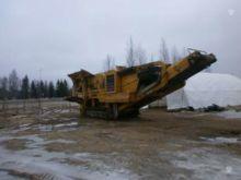 2009 EXTEC C 12, stone crusher