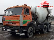 2006 KAMAZ 55111R concrete mixe