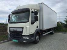 2016 DAF LF closed box truck