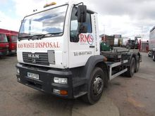 2003 MAN 26.285 chassis truck b