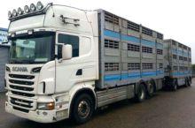 2011 SCANIA R 730 V8 livestock