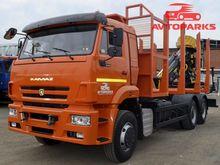 2015 KAMAZ 632351 timber truck