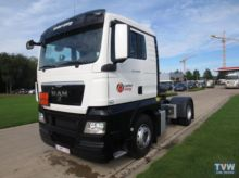 Used 2014 MAN tracto
