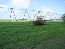 DTZ dda 100 irrigation machine