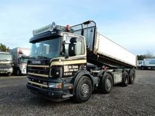 2003 SCANIA 124G-420 HMF dump t
