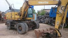 1996 KOMATSU PW130 wheel excava