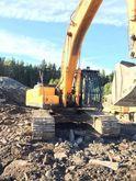 2007 HYUNDAI R320 tracked excav