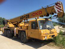 1991 TATRA AD 28 mobile crane