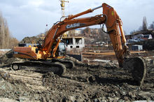 2002 CASE CX330 tracked excavat