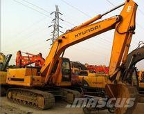 2012 HYUNDAI Robex 215-7 tracke