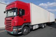 2007 SCANIA closed box truck +