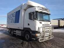 2005 SCANIA R580 refrigerated t