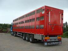 Used Livestock semi-