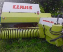 CLAAS Markant 65 square baler