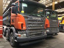 2008 SCANIA R420 dump truck