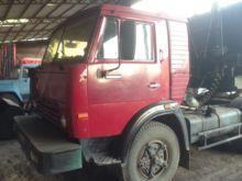 KAMAZ 5410 tractor unit + grain