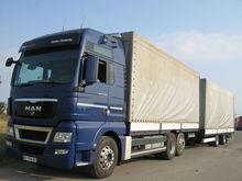 2012 MAN TGX 26.440 tilt truck