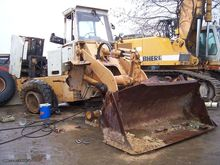 Damaged INTER 520B wheel loader
