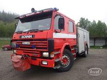 1987 SCANIA P92 M Fire vehicles